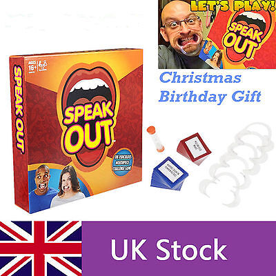 Brand New  Hasbro Speak Out Board Party Game Speakout Bid 1