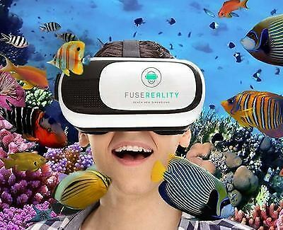 FUSEREALITY Virtual reality headset (boxed for Christmas gift!)
