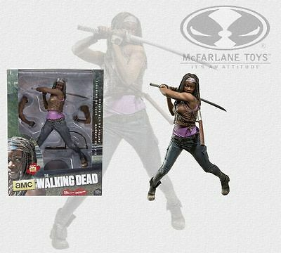 "McF McFarlane - The Walking Dead - Michonne 10"" Action Figur Deluxe Nr 3 NEU&OVP"