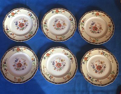 6 Theodore HAVILAND Limoges France CLUNY Salad Plates