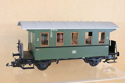 PIKO G SCALE DB GREEN 2nd CLASS LOCAL PASSENGER COACH 98059 Compatible with LGB