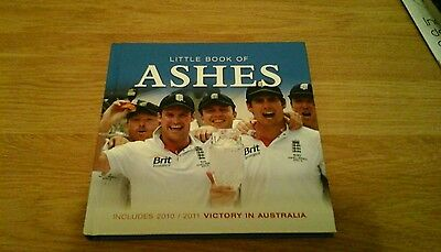 Cricket book. The Ashes