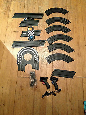 Micro Scalextric Rally Racers Race Set -- 1:64 Scale