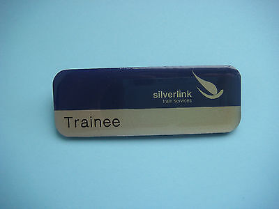 silverlink trains services railway trainee badge