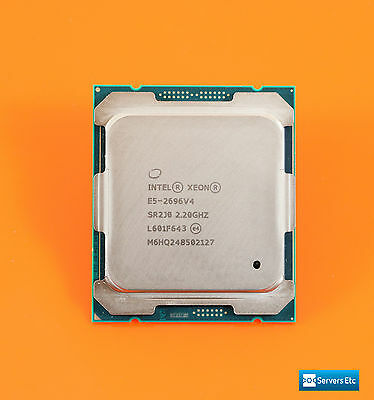 Oem Intel Xeon E5-2696 V4 2.20Ghz 22-Core 55Mb 150W Cpu Processor - Sr2J0