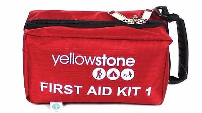 Yellowstone First Aid Kit Pack 1 Emergency Compact Camping Trecking Dog Walking