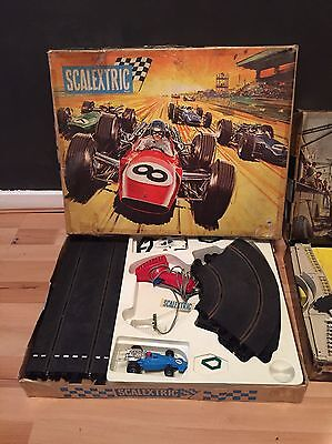 Vintage Scalextric Set And For expansion