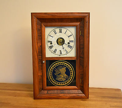 Mid 1800's Antique Seth Thomas Ogee Clock Plymouth Hollow Conn