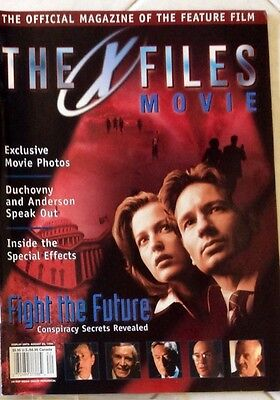 X-Files Official Movie Magazine - August 1998 - Collectors