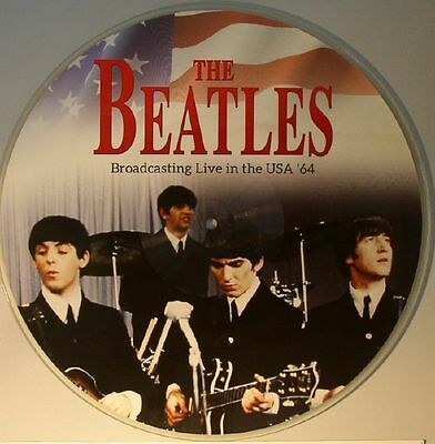 BEATLES, The - Broadcasting Live In The USA 64 - Vinyl (picture disc LP)