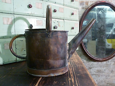 French Copper Watering Can Decorative Antique Vintage