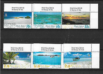 Pitcairn Islands 2005 Scenery 1st Issue Ducie and Oneo Islands  UMM