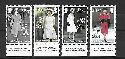 Britsh Antarctic Terriorty 2016 NEW ISSUE 90 Years of Style UMM