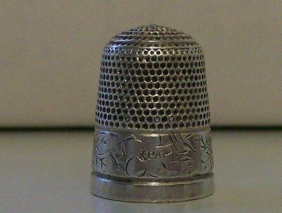 Nice Charles Horner Early Thimble (PAT. 6)