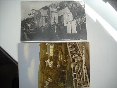 st Ishmael s.    FERRYSIDE.  1932.     And.   The village.  ABERGORLECH.  Unused