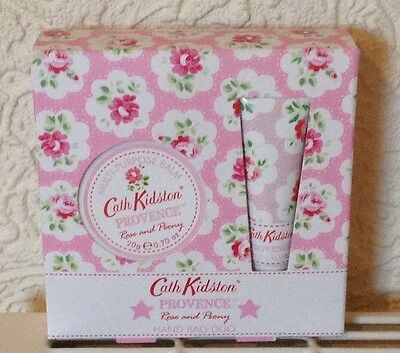 New Cath Kidston Rose and Peony Lip & Balm Duo £12
