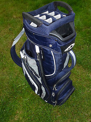 Sun Mountain Sync Golf Stand/ Cart Bag In Excellent Condition