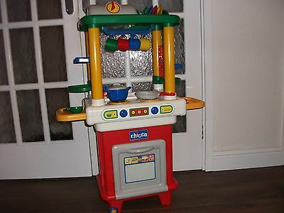 Chicco Childrens Play Kitchen And Accessories Immaculate Condition