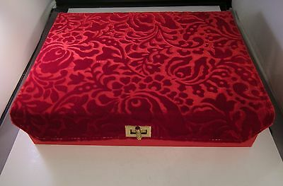 Schiaparelli Shocking Pink Lingerie or Scarf Dresser Box