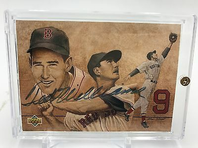 Ted Williams Signed Autographed 1992 Upper Deck Baseball Card UDA Authentic