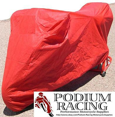 Custom Fit Superbike Bike Cover In Red For Ducati 748 916 996 996S 996R 998