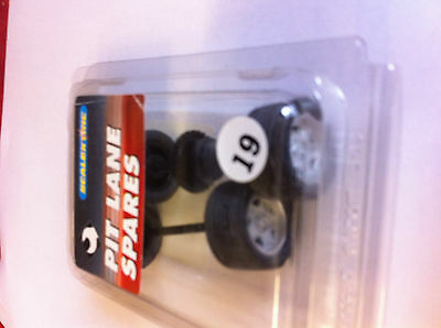 SCALEXTRIC C8089 Alfa pit lane spares  wheels tyres axels contrate bearings