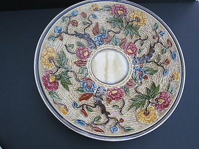 Vintage HJ Wood Indian Tree Staffordshire Pottery Charger/Plate