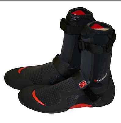 RHINO 'Prism Round Toe Wetsuit Boot 7MM - Black/Red