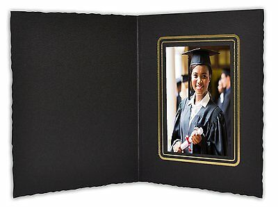 Cardboard Photo Folder For a 2.5x3.5 Photo (Pack of 100) GS008 Black Color