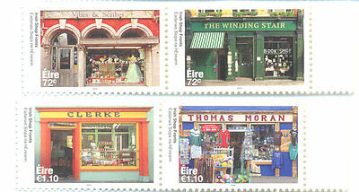Ireland - Shop Fronts August 2016 set mnh