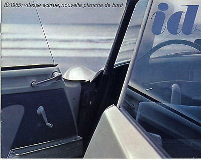 CITROEN ID19, Catalogue publicitaire 06/64