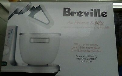Breville freeze and mix ice-cream maker