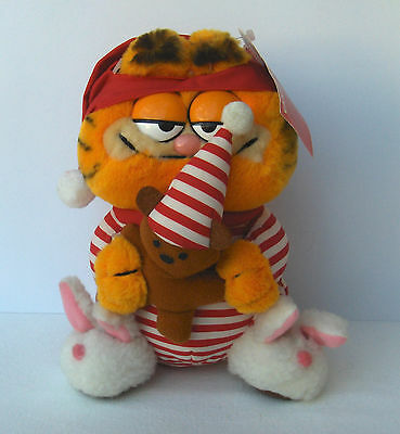 Garfield The Night Before Christmas Plush Toy With Tags