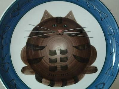 Jersey Pottery Fat Cat and Fishbones plate - just lovely!
