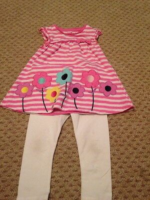 Girls Top And Leggings 2 To 3 Years
