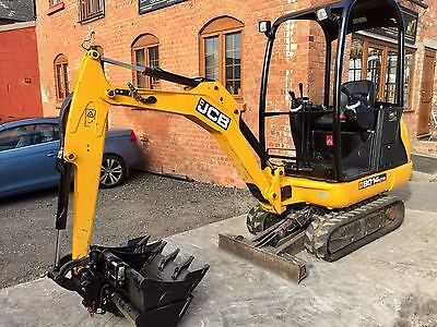 2013 Jcb 8014 Cts Mini Digger Excavator New Quick Hitch 3 Buckets Choice Of 4