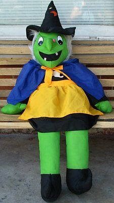 "Goffa Huge 56"" Witch Halloween Stuffed Plush Porch Sitter Jumbo Large"