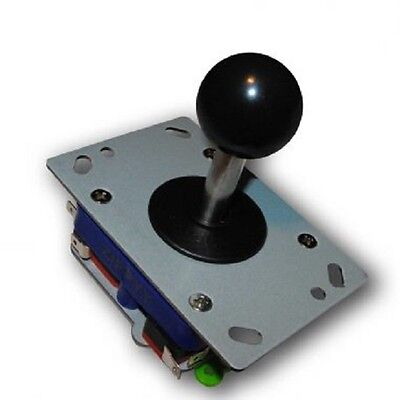 Classic Zippy 2/4/8 way arcade game joystick black ball top - USA Seller