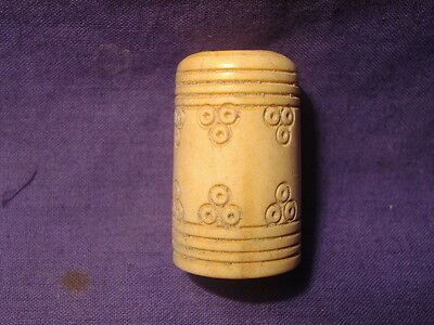 Ancient Shell/Bone Artefact Roman 200 BC    #1914