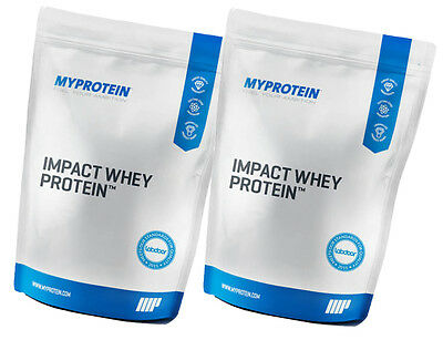 lbs MYPROTEIN Impact Whey Protein protein 2x1kg Chocolate & Coconut Powder Pouch