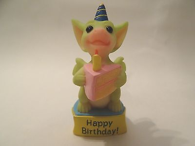 Pocket Dragon Messages 'HAPPY BIRTHDAY' Mint Rare and Boxed
