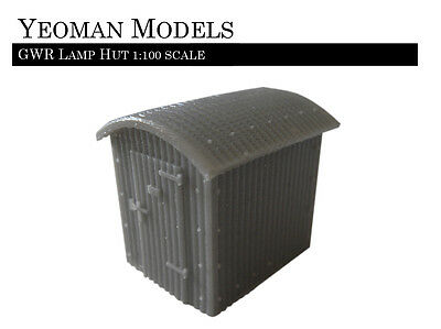 GWR Lamp Hut 1:100 scale TT Guage and Flames of War compatible