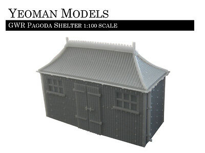 GWR Pagoda Shelter 1:100 scale TT Guage and Flames of War compatible