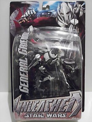 Star Wars Unleashed General Grievous Action Figure New Sealed!!