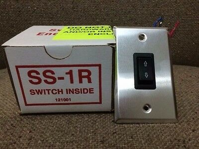 DRAPER SS-1R-Single Station Control Switch - BRAND NEW IN BOX