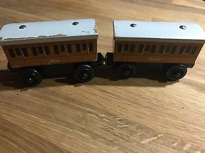 Annie And Clarabel - Thomas And Friends Wooden Trains
