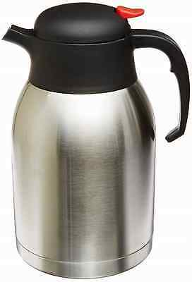 Stainless Steel Everyday Double Wall Vacuum Insulated Carafe Tea Container 2L