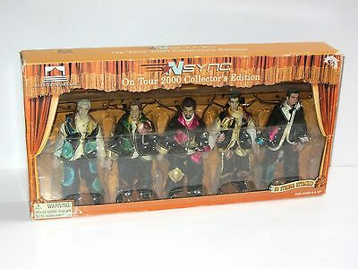 Rare NSYNC No Strings Attached Collector's Edition Toy Figure Marionette Box Set