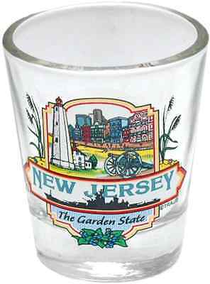 New Jersey  souvenirs  Shot Glass / Clear - Montage New Jersey