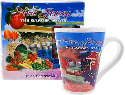 New Jersey  souvenirs Coffee Mug / Tapered Photo - NJ The Garden State